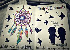 Wreck This Journal - Dreamer by VampiretteKnight