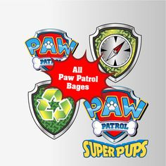 Paw Patrol Clipart  12 PNG 300 Dpi  ALL Patrol