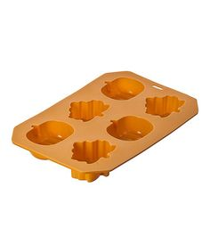 Take a look at this Pumpkin & Leaf Baking Mold by GANZ on #zulily today!