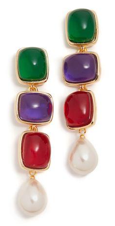 Kenneth Jay Lane Drop Earrings | SHOPBOP