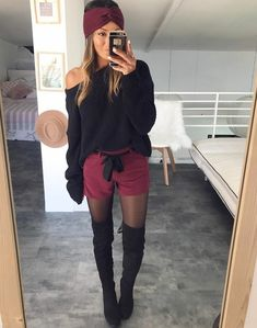 Instagram: sam_nounette Fall Fashion Trends, Autumn Fashion, Cool Outfits, Fashion Outfits, Womens Fashion, What To Wear, Super Cute, How To Make, Shopping