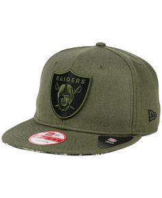 New Era Oakland Raiders Camo 9FIFTY Snapback Cap Men - Sports Fan Shop By  Lids - Macy s e4385223b3cc