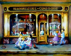 The Old Boutique by Charlotte Lachapelle