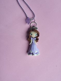 Hey, I found this really awesome Etsy listing at https://www.etsy.com/listing/209981054/princess-sofia-polymer-clay-necklace