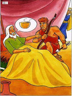 Jacob et Esaü - visuelsLevangelisation (section Enfants)
