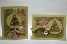 Noel Tree Cards - Pinefeather