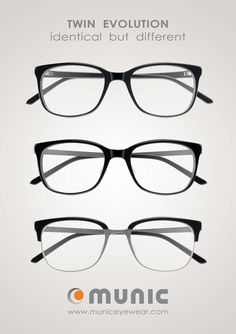 MUNIC EYE WEAR - MOD. 857-1-2-3 #municeyewear