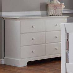 Pali Designs Volterra Double Dresser with Optional Hutch - PALI110