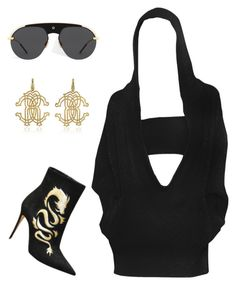 """Untitled #4753"" by teastylef ❤ liked on Polyvore featuring Roberto Cavalli"