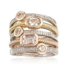Ross Simmons set of five #rings #jewelry