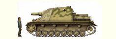 SturmPanzer IV Brummbar -produced 1943-1944 15 cm StuH 43 L/12 gun, 7.92 mm MG34 machine gun 666 produced