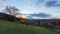 Located near the small village called Radíč, we've found this view and enjoyed the sunset.