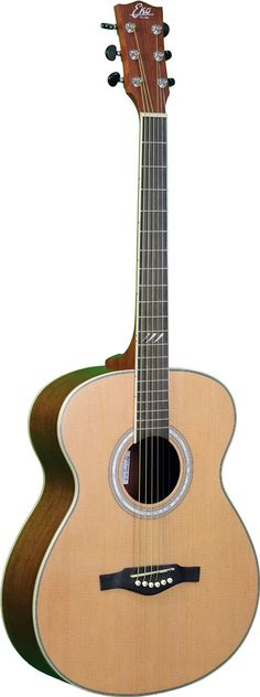 EKO Guitars 06217085 TRI Series Auditorium Acoustic Guitar - Natural