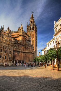 Seville Cathedral (Catedral de Sevilla), Spain...I was blessed to be able to travel there with my daughter!