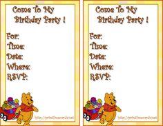 winnie the pooh printables | the disney winnie the pooh free printable invitations winnie the pooh ...