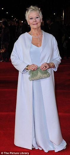 Dame Judi Dench at the Bond premiere