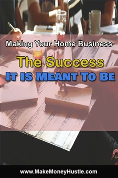 Making Your Home Business The Success It Is Meant To Be Affiliate Marketing, Online Marketing, Business Marketing, Home Based Business, Online Business, Make Money Fast, Earn Money, Body Makeup, Frugal Tips