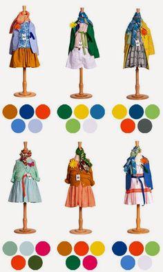 Таблицы сочетания цветов