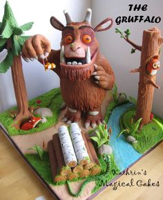 The Gruffalo. Visit www.forestry.gov.uk/gruffalo to find out about Gruffalo anniversary celebrations.
