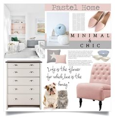 """Pastel Home"" by rosalie45 ❤ liked on Polyvore featuring interior, interiors, interior design, home, home decor, interior decorating, Silent D, Home Decorators Collection, MANI and Royal Doulton"