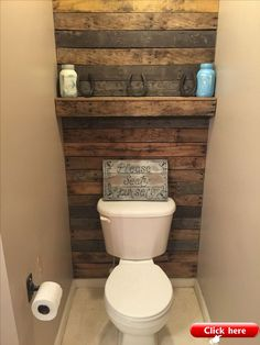 Pallet wall bathroom - My Pallet wood wall and shelf 2019 My Pallet wood wall and shelf The post My Pallet wood wall and shelf 2019 appeared first on Pallet ideas Pallet Wall Bathroom, Pallet Accent Wall, Diy Pallet Wall, Pallet Ideas, Pallet Walls, Bathroom Shelves, Pallet Projects, Palette Deco, Rustic Bathroom Designs