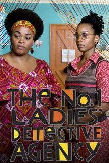 The No. 1 Ladies Detective Agency TV show cover art. Just loved this series and it is on again.