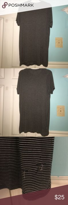 brandy tshirt dress in perfect condition, super cute and casual!! softest dress i own Brandy Melville Dresses Mini