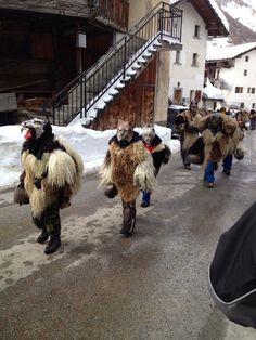 Peluched carnaval d'Evolene Europe, Traditional, Mardi Gras, Future Tense, Switzerland, History