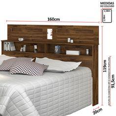 Cama Box Queen Size, Bed, Room, Closet, Furniture, Design, Home Decor, Mirror Bed, Headboard Ideas