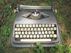My obsession--typewriters.