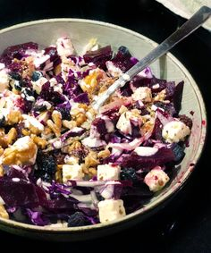 Allrecipes, Cobb Salad, Acai Bowl, Side Dishes, Salads, Food And Drink, Veggies, Feta, Cooking