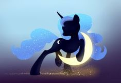 Princess Luna and Crescent Moon wallpaper by xbi