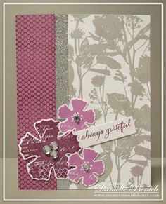 CTMH: September Stamp of the Month: Paper Garden