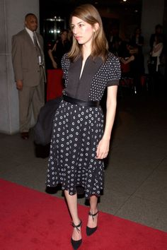 Sofia Coppola attends the after party for, 'A Work in Progress: An Evening with David O. Russell' at the Museum of Modern Art April 10, 2002 in New York City.
