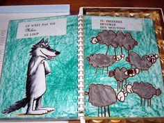 Participation au concours Mario Ramos - maternelle, album Mario, Wolf Illustration, Album Jeunesse, Fairy Tales, Creations, Animation, Activities, School, Inspiration