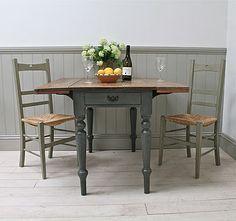 Painted Pembroke Kitchen Table