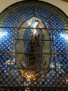 Vitral Nossa Senhora de Guadalupe