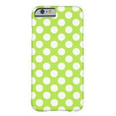 Shop Retro Green White Polka Dots Case-Mate iPhone Case created by stdjura. White Iphone, Iphone Case Covers, Create Yourself, Polka Dots, Green, Design, Polka Dot, Dots
