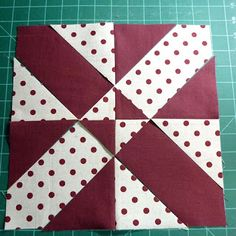 Disappearing 4 patch - with a twist! actually very simple - love the result