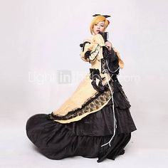 aku geen musume kagamine rin cosplay kostuum - EUR € 82.49