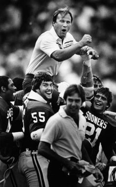 """""""Switzer: A Players' Coach"""" is a fresh look at his life with an emphasis on the relationships he built with friends, coaches and players. Semi Pro Football, Ou Football, Notre Dame Football, American Football, College Football, Oklahoma Sooners Football, Oregon Ducks Football, Florida State University, Florida State Seminoles"""