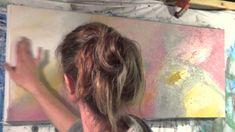 "Abstract Art Painting Demo - Original by Shari Kreller - ""Friendship"""