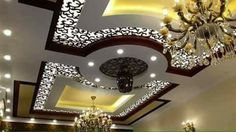 Top 40 Modern False Ceiling Design Ideas of - Engineering Discoveries Best Ceiling Designs, Beautiful Ceiling Designs, Simple False Ceiling Design, Interior Ceiling Design, House Ceiling Design, Ceiling Design Living Room, Bedroom False Ceiling Design, Home Ceiling, Modern Ceiling