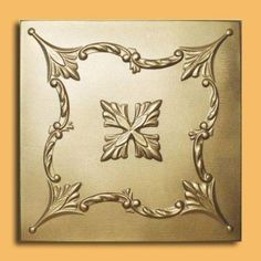 "Saratov Gold (20""x20"" Foam) Ceiling Tile  Would need 60  At $3.00 that would be $180.00"