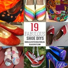 19 ways to decorate shoes