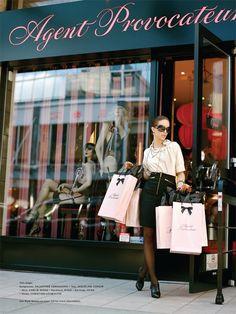 Lingerie Shopping- Agent Provocateur