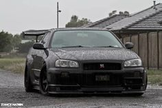 Nissan Skyline R34 GTR via Stance Nation