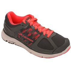 detailed look a03a4 22fc7 ... Maria Women s Therapeutic Athletic Extra Depth Shoe Leather-and-Mesh  Lace - Grey and Salmon Medium (B) Grey Salmon Lace US Woman - Women Walking  Shoes