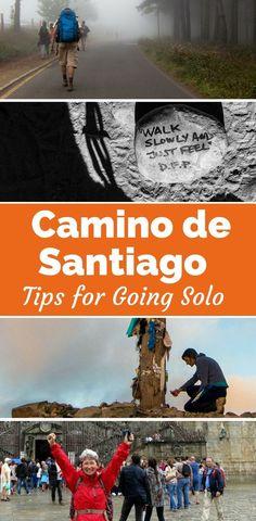 Walking the Camino de Santiago solo? Get tips and inspiration to help you hike the Way of St. James | Santiago de Compostela | Camino tips for Women