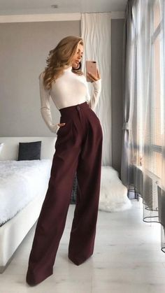 Business Casual Outfits, Professional Outfits, Cute Casual Outfits, Stylish Outfits, Classy Chic Outfits, Classy Style, Dinner Outfit Classy, Cute Office Outfits, Classy Wear